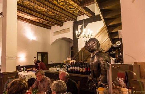 Ingresso al ristorante Zucchero dall'Hotel Ritter St. Georg
