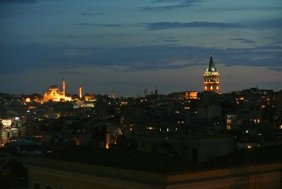 Witt Istanbul Suites : View from 5th Floor