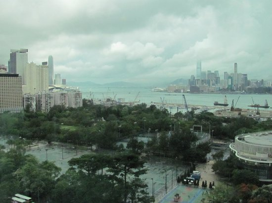 Metropark Hotel Causeway Bay Hong Kong: view from my room