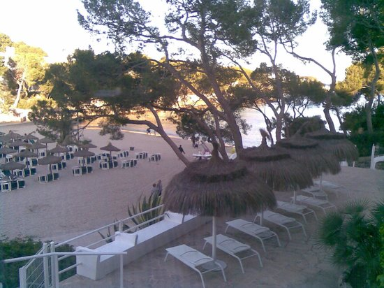 SENSIMAR Rocador : Beach View from Hotel