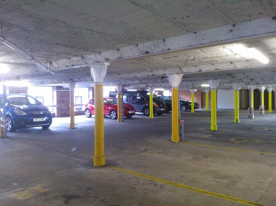 Travelodge Preston Central: second floor car park