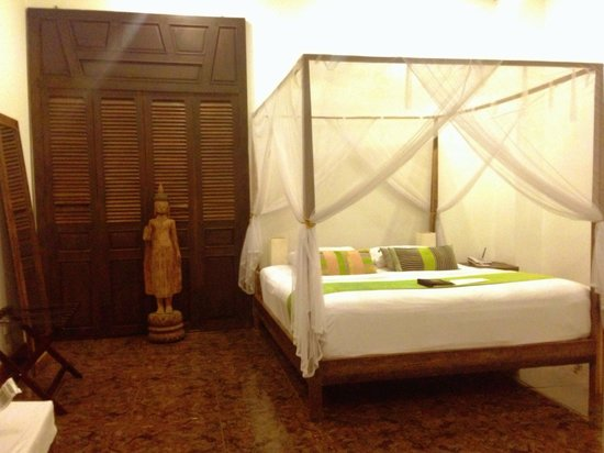 The Pavilion : Double room bedroom