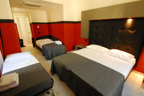 """Selene Style Hotel: Our very cramped """"Family Room"""""""