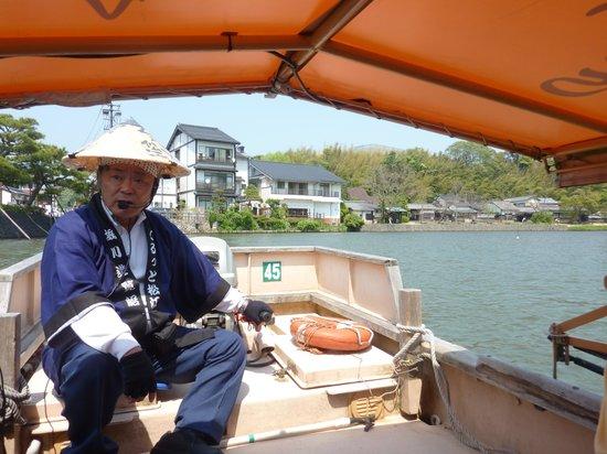 Matsue Horikawa Pleasure Boat : 遊覧船