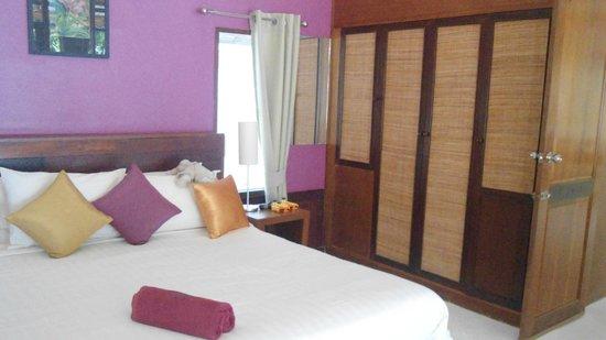 Green Papaya Resort: Chambre