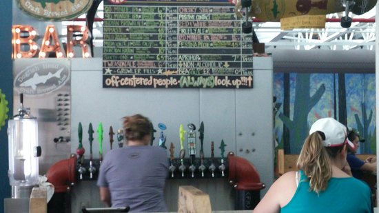 Dogfish Head Craft Brewery: Too many beers to list.