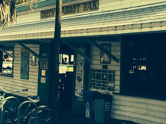Old Town Trolley Tours Key West: Green Parrot Bar - One of Hemmingway's favorite hang outs
