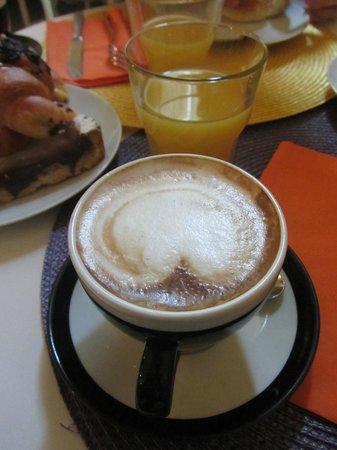 Hotel La Casa di Morfeo: Cappuccino