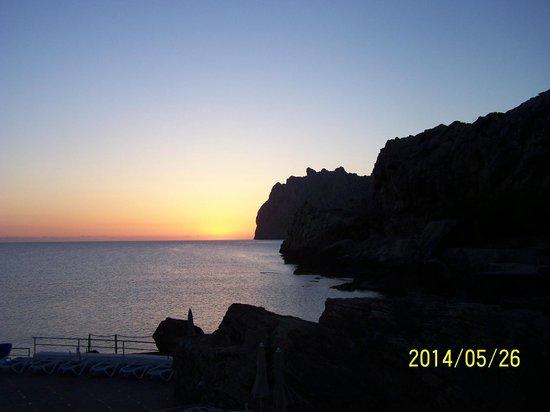SENTIDO Don Pedro: sunrise from hotel room