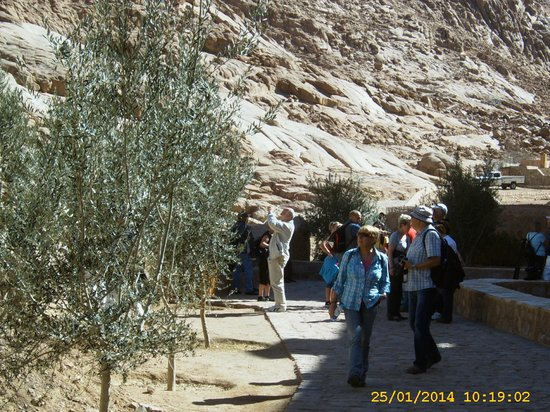 Sofitel Taba Heights: Weg zum Kloster