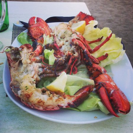 Café bar Es Recó: Local lobster from the port