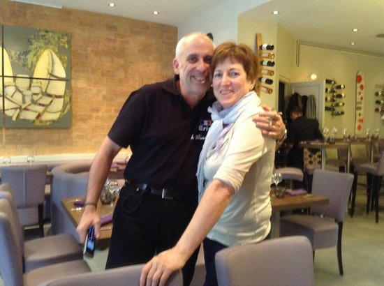 Le Vingt4: wonderful owners, Eric and Michelle
