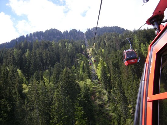 Bergbahn Kitzbuhel: téléphérique  Kitzbühel
