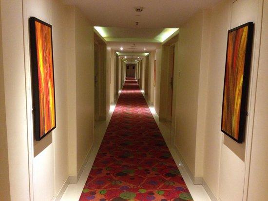Noorya Hometel : The beautiful corridor
