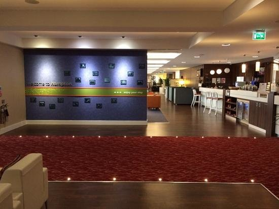Hampton by Hilton Exeter Airport: reception is 24x7