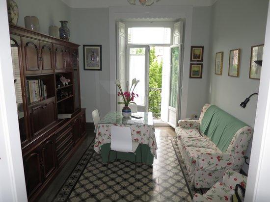 Casa palacio Lopez Daza: Living room