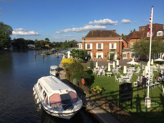 Macdonald Compleat Angler: View from the bridge
