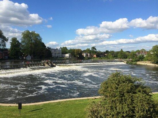 Macdonald Compleat Angler: View from one of the upgraded larger bedrooms with balcony