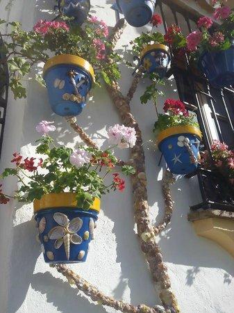 Estepona, España: Calle Pozo de los Palos - prizewinning façade