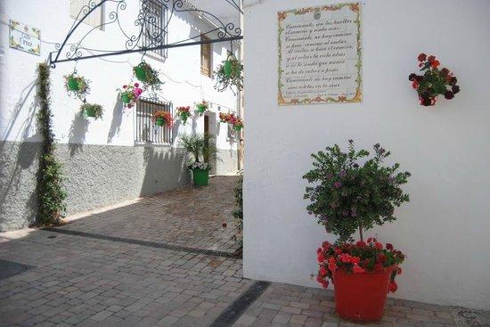 Centro histórico de Estepona: Junction Calle Troyano and Calle Cruz
