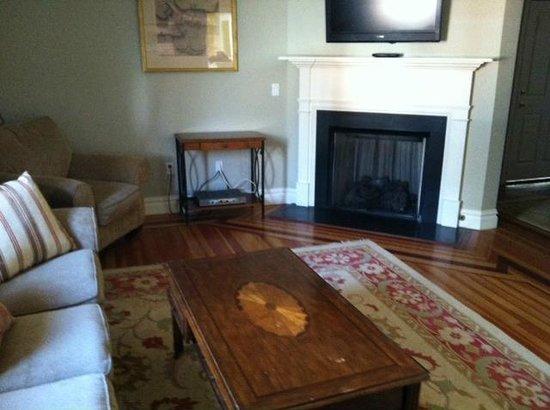 Pelham Court Hotel: Fireplace