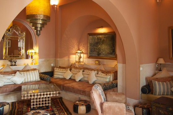 Riad Camilia: Lobby lounge