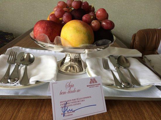 Maksoud Plaza: Dia do aniversário. Hospitalidade do hotel!