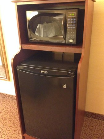 Hampton Inn & Suites West Bend : Mini Fridge/Microwave
