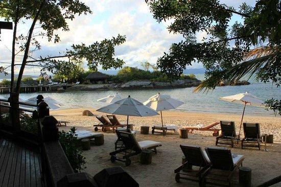 Ponta dos Ganchos Exclusive Resort: Praia exclusiva