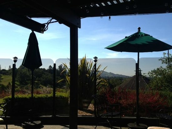 Hilton Sonoma Wine Country : Breakfast on the Patio