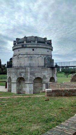 Mausoleo di Teodorico : Il mausoleo