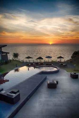 The Houben Hotel : Sunset!