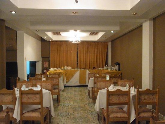 Inti Punku Machupicchu Hotel: レストラン