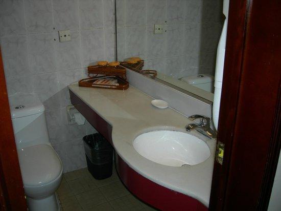 Emeishan Grand Hotel : bath vanity