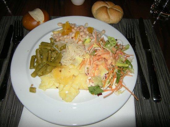 Konrads Austrian Steaks: buffet entrée