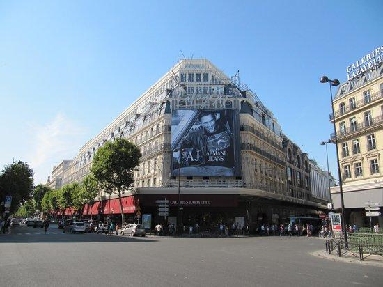 Galeries Lafayette: магазин