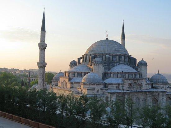 Grand Hotel Gulsoy: la moschea dalla terrazza