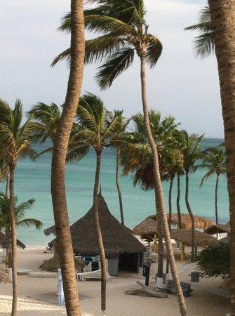 Holiday Inn Resort Aruba - Beach Resort & Casino: view from 5th floor Aruba tower