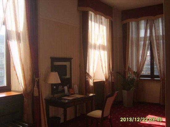 President Hotel: Одна из комнат аппартаментов