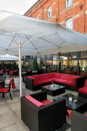 Nestor Hotel Ludwigsburg: Lounge Außenbereich