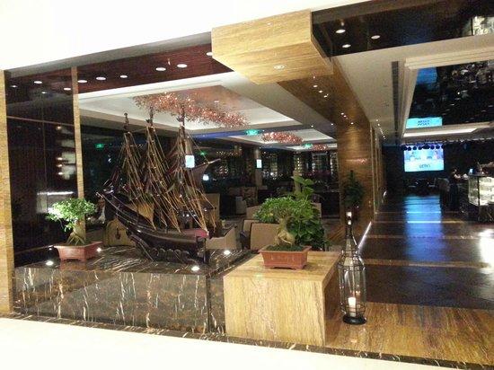 Sofitel Hangzhou Westlake: Lobby cafe