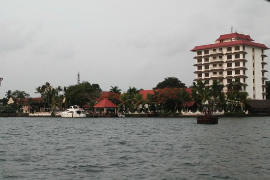 Vivanta by Taj - Malabar: hotel view from the boat