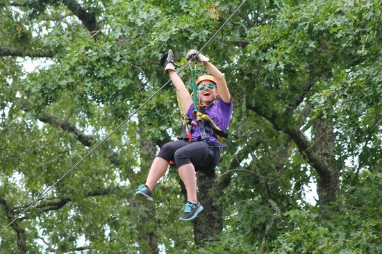 Chattooga Ridge Canopy Tours: On the Beast!