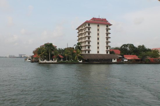 Vivanta by Taj - Malabar: hotel from sunset cruise