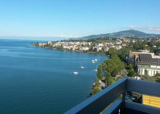 Eurotel Riviera Montreux : vue depuis balcon