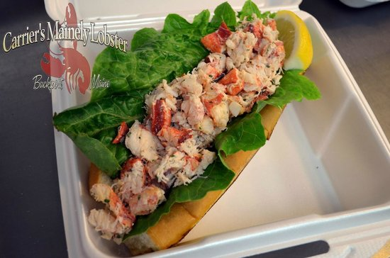 Carrier's Mainely Lobster: Lobster rolls