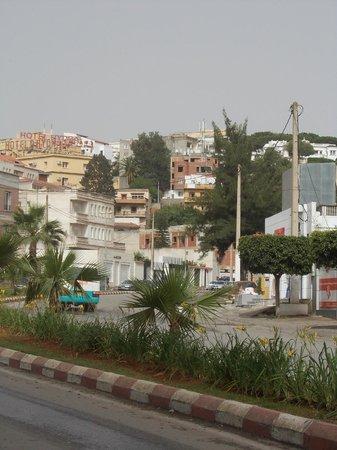 Hotel d'Hydra: Quartier de l'hôtel.