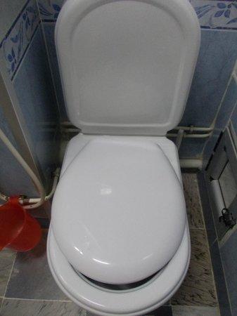 Hotel d'Hydra: Vue des toilettes