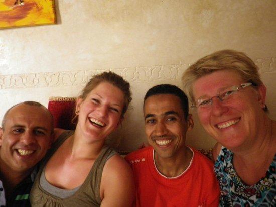 Riad Dar Yammi : Karim, moi meme, un ami du couple, Sylvie