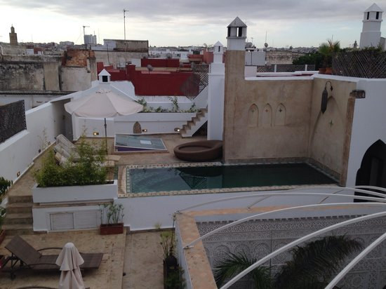Riad Kalaa : Terrace view